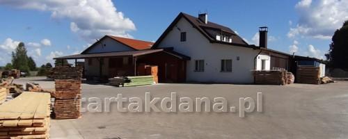Budynek główny - Tartak Dana w Stradunach