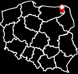 mapa sytuacyjna Tartak Dana