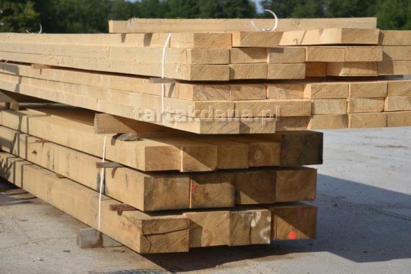Słupy drewniane