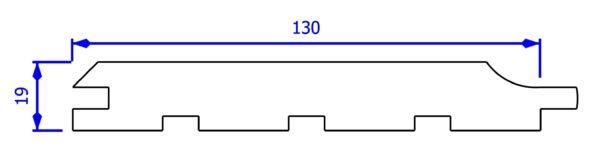 Szkic deski z przedłużanym piórem