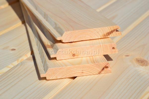 Deska na podbitkę dachową